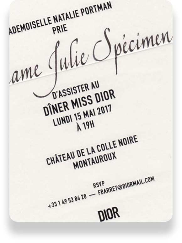À Paris 4e, osez la calligraphie événementielle